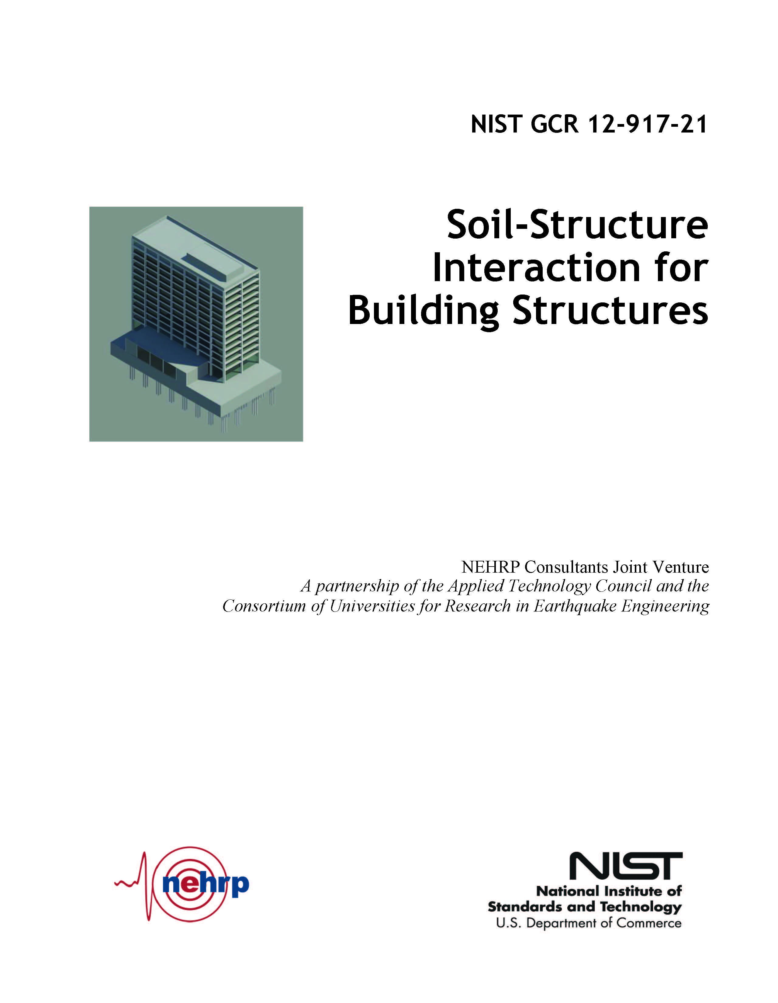 NIST的新书Soil-Structure Interaction for Building Structures